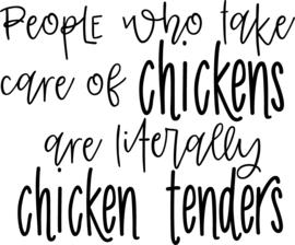 T-shirt Dames - Chicken Tender
