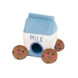 Hondenspeelgoed | Zippy Burrow Milk and Cookies
