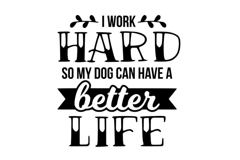 T-shirt Dames - I Work Hard