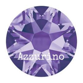 2028 plaksteen 7,2 mm / SS 34 tanzanite F (539) p/12