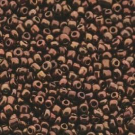 rocailles 12/0 bruin/koper p/500 gram (601)