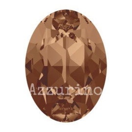 4120 Fancy Stone 8 x 6 mm smoked topaz F (220) p/12