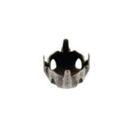 kapje voor 10mm steen 4 gaats kruislings NMAS 10 x 10 mm p/10