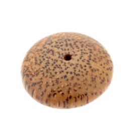 kraal hout disc 30x12mm palmhout p/10