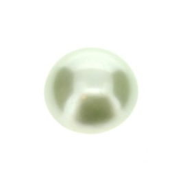 plakparel 8 mm pastel green p/25