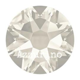 2028 plaksteen 7,2 mm / SS 34 crystal silver shade F (001 SSHA) p/12