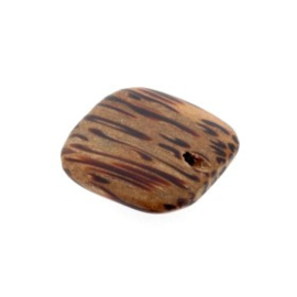 kraal hout 20x20x4 mm palm wood  p/10