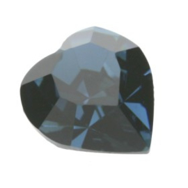 4800 Fancy Stone heart 11 x 10 mm montana F (207) p/6