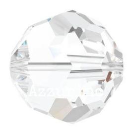 5000 kraal rond facet 8 mm crystal (001) p/12