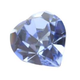 4800 Fancy Stone heart 11 x 10 mm light sapphire F (211) p/6