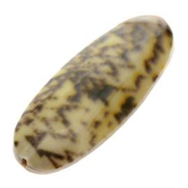 kraal schelp golden olive shell klein 26 x 10 mm p/10