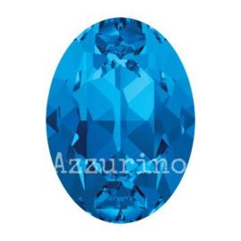 4120 Fancy Stone 8 x 6 mm sapphire F (206) p/12
