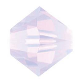 5328 biconische kraal 4 mm violet opal (389) p/50