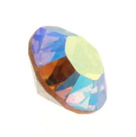 1028 Xilion Chaton puntsteen 4,00 mm / PP 32  light colorado topaz AB F (246 AB) p/50