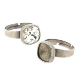 Ring verstelbaar voor Swarovski 4470-10mm NMAS p/6