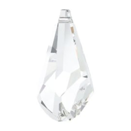 6010 Polygon drop hanger 21 x 10 mm crystal (001) p/stuk