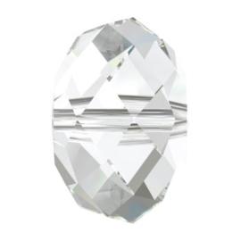 5040 kraal briolette 18 mm crystal (001) p/2