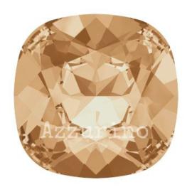 4470 Fancy Stone Cushion Square 10 mm crystal golden shadow F (001 GSHA) p/3