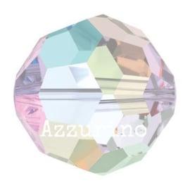 5004 kraal 8 mm crystal ab (001 AB) p/12
