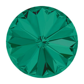 1122 rivoli 10mm puntsteen SS47 emerald F (205) p/6