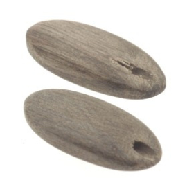 kraal hout 20x8mm greywood  p/20