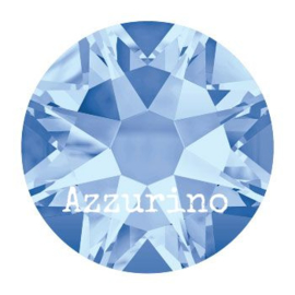 2028 plaksteen 4,8 mm / SS 20 light sapphire F (211)  p/50