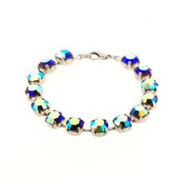DIY cupchain armband voor ss 39 Preciosa stenen SIAM AB 17 cm NMAS p/set