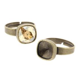 Ring verstelbaar voor Swarovski 4470-10mm MAG p/6