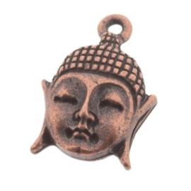 Decoratieve hanger buddha klein MAC 18 x 12 mm p/6