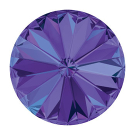 1122 rivoli 12mm puntsteen crystal heliotrope F (001 HEL) p/6