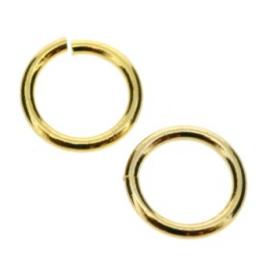 open ring / verbindingsring 8 mm (1x6mm) AG p/400