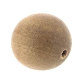 kraal hout gelakt rond 25 mm greywood p/25