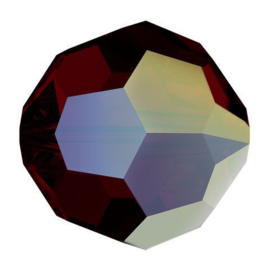 5000 kraal rond facet 8 mm garnet AB (241 AB) p/12