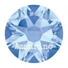 2028 plaksteen 7,2 mm / SS 34 light sapphire F (211) p/12