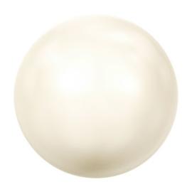 5810 12 mm Crystal creamrose pearl (001 621) p/10