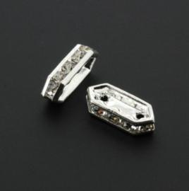strass divider 2 gaats spl crystal 15 x 6 mm p/6
