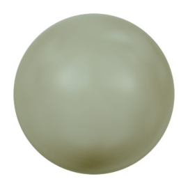 5817 plakparel 10 mm crystal powder green pearl (393) p/10