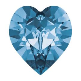 4800 Fancy Stone heart 11 x 10 mm montana (207) p/6