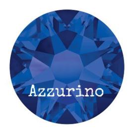 2028 plaksteen 4,8 mm / SS 20 crystal meridian blue F (001 MBL)  p/50