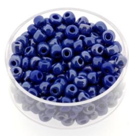 rocailles 6/0 paars/blauw p/500 gram