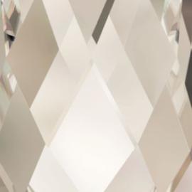 6091 Baroque hanger 50 x 35 mm crystal silver shade (001 SSHA)