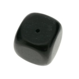 kraal blackhorn dice kubus 18 x 18 mm p/6
