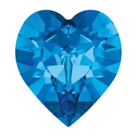 4800 Fancy Stone heart 6.6 x 6 mm sapphire F (206) p/6