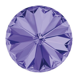 1122 rivoli 12mm puntsteen tanzanite F (539) p/6