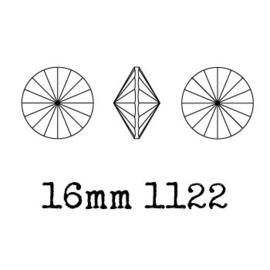 1122 rivoli 16mm puntsteen Jet (280) p/4