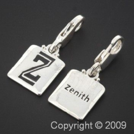 bedel click-on  letter Z zenith 27 x 12 mm p/6