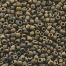 rocailles 12/0 bruin/koper p/500 gram
