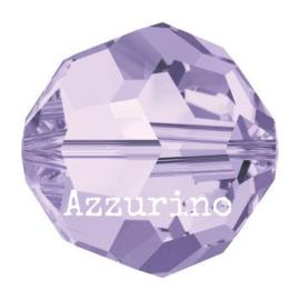 5000 kraal rond facet 8 mm violet (371) p/12