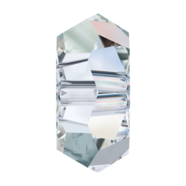 5308 kraal 8x3,5 mm (spacer) crystal ab (001 AB) p/10