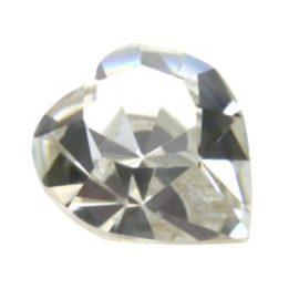 4800 Fancy Stone heart 11 x 10 mm crystal F (001) p/6